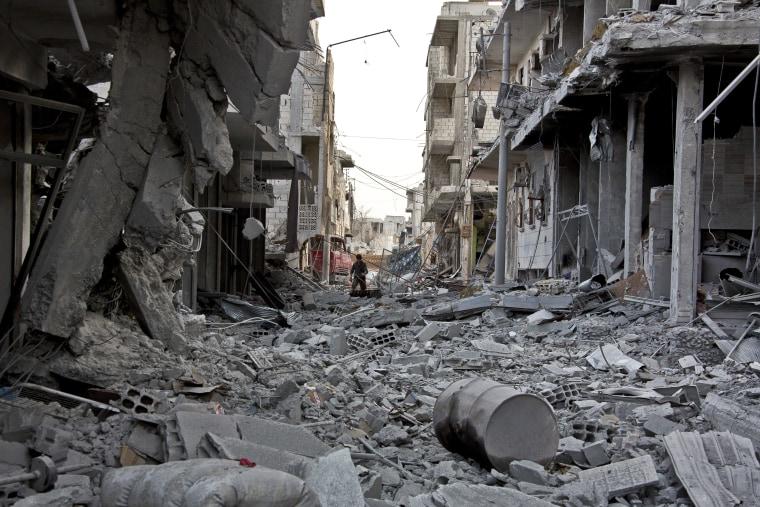 Image: Inside Kobani
