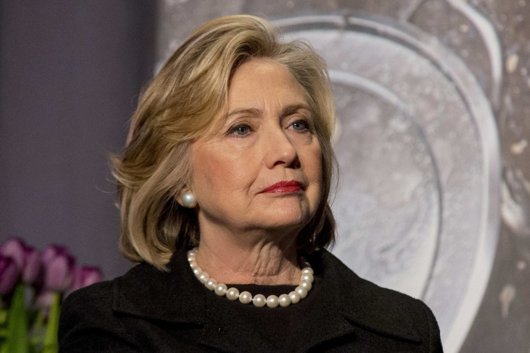 """Image: Former U.S. Secretary of State, Hillary Clinton attends the U.S. Agency for International Development at """"Cookstoves Future"""" summit in New York"""