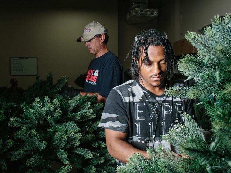 Image: Santa's Own has created seven full time jobs since bringing some of their production back from China.