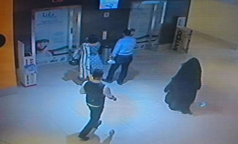 Image: A CCTV image released by Abu Dhabi police