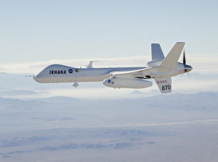 Image: Ikhana drone
