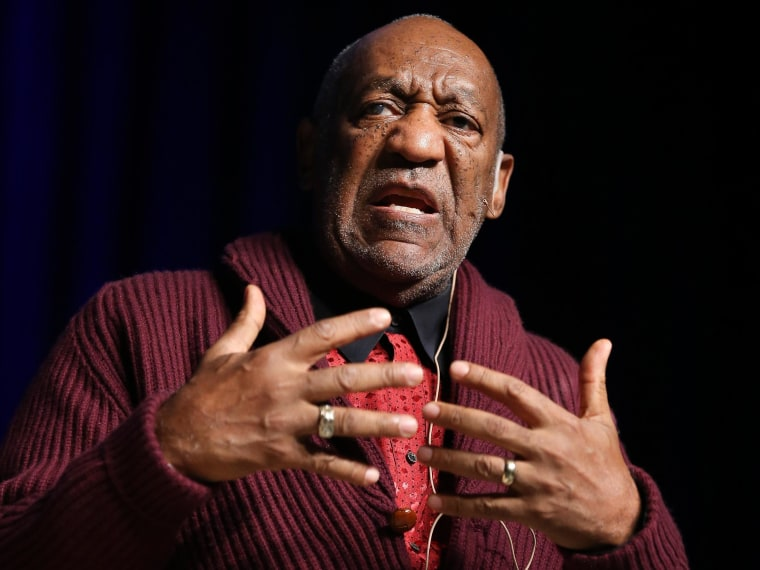 Comedian Bill Cosby performs at the Stand Up for Heroes event at Madison Square Garden in New York on Nov. 6, 2013. Three women who claim they were victimized by Cosby are scheduled to appear at a news conference called by attorney Gloria Allred, on Wednesday, Dec. 3, 2014.