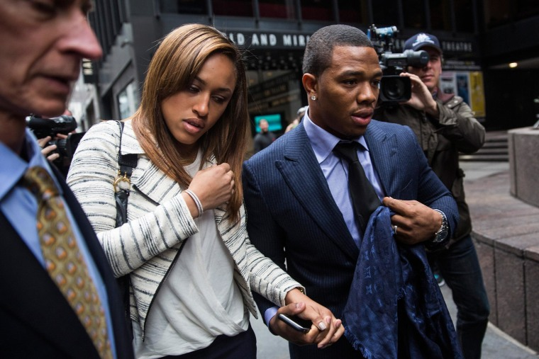 Image: Suspended Baltimore Ravens Ray Rice Attends Appeas Hearing In New York
