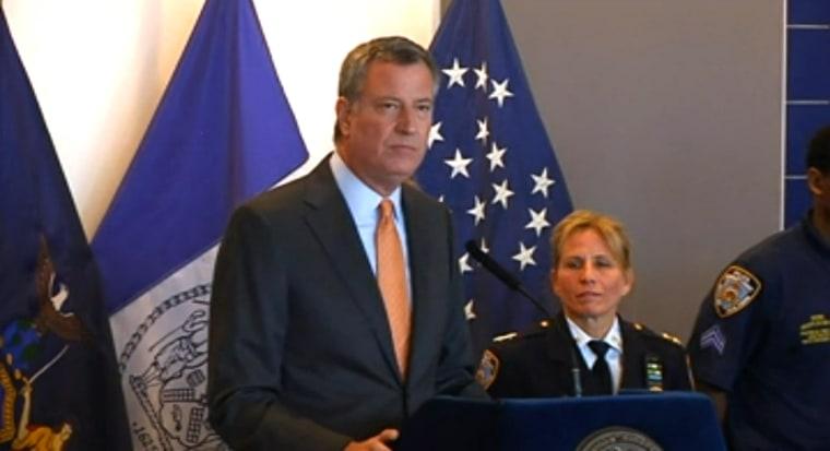 Image: New York City Mayor Bill de Blasio