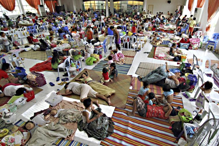 Image: Shelter in Surigao, Philippines