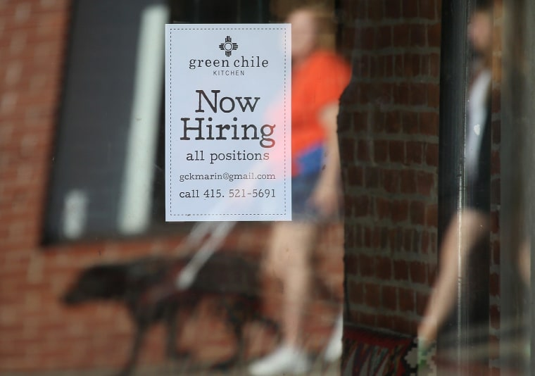 Image: National Unemployment Rate Drops To 5.8 Percent