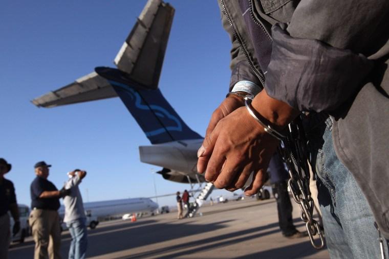 Image: Undocumented Immigrants To U.S. Repatriated To Guatemala