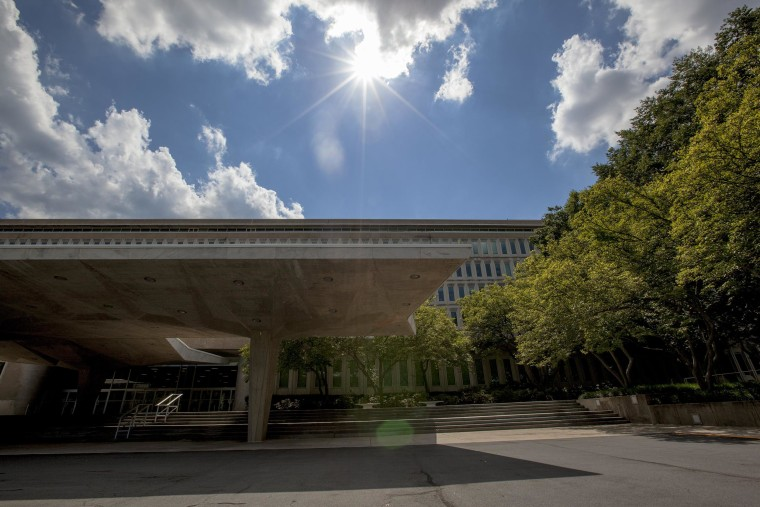 Image: Exterior of the CIA headquarters building.