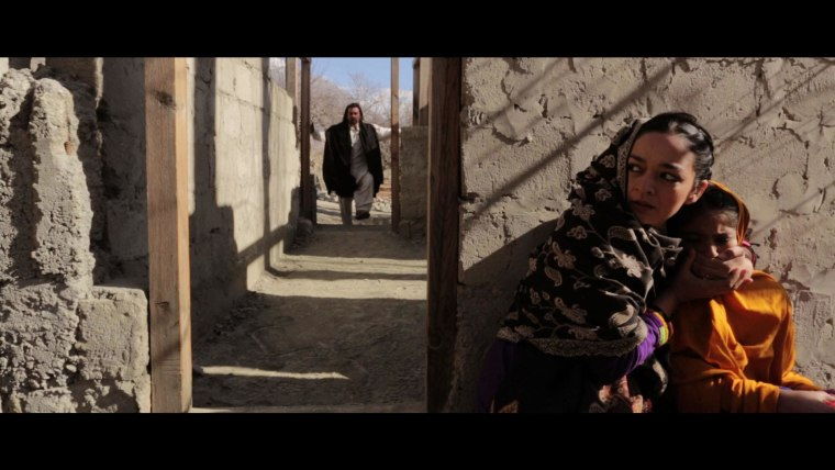"""A scene from Afia Nathaniel's movie, """"Dukhtar,"""" which tackles the tough topic of child marriage in Pakistan."""