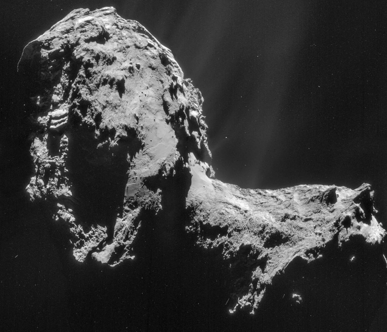 Image: Comet Churyumov-Gerasimenko
