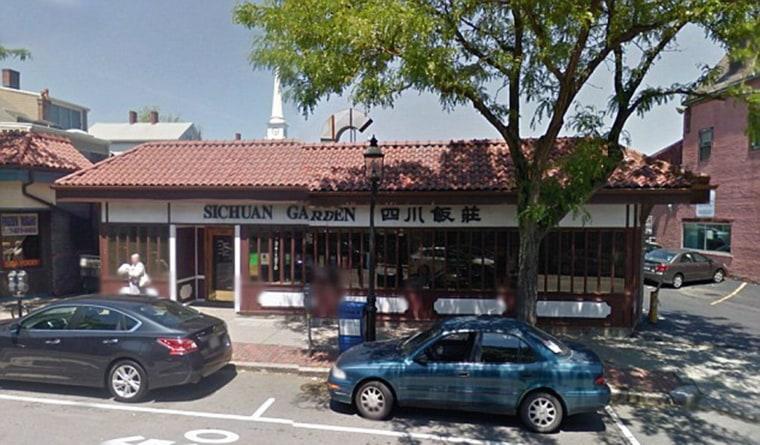 Sichuan Garden restaurant in Brookline, Mass.