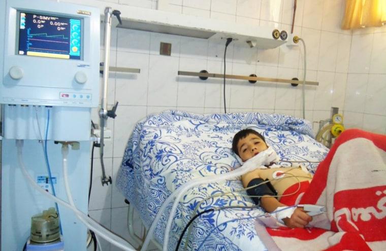 Wael in the hospital