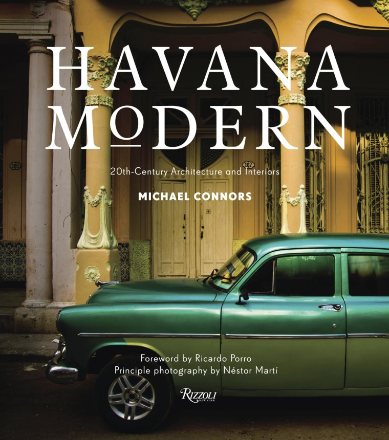 The book Havana Modern, published by Rizzoli