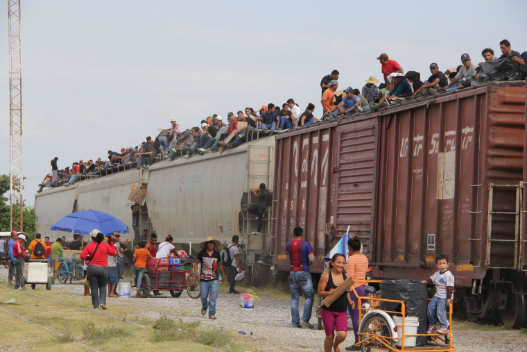 Image: TOPSHOTS-MEXICO-US-MIGRATION