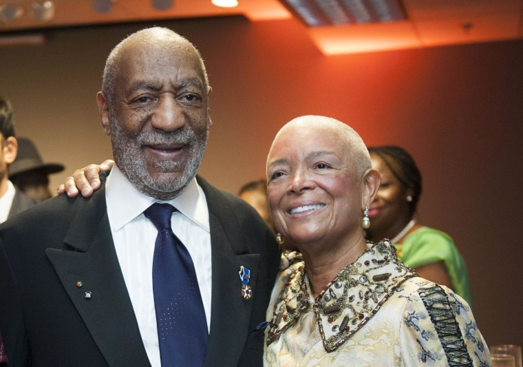 Image: Johnnetta Betsch Cole, Bill Cosby, Camille Cosby