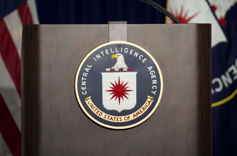 "The lectern stands empty as reporters await the arrival of Director of Central Intelligence Agency John Brennan for a press conference at CIA headquarters in McLean, Virginia, December 11, 2014.   The head of the Central Intelligence Agency acknowledged Thursday some agency interrogators used ""abhorrent"" unauthorized techniques in questioning terrorism suspects after the 9/11 attacks. CIA director John Brennan said there was no way to determine whether the methods used produced useful intelligence, but he strongly denied the CIA misled the public. AFP PHOTO/JIM WATSONJIM WATSON/AFP/Getty Images"