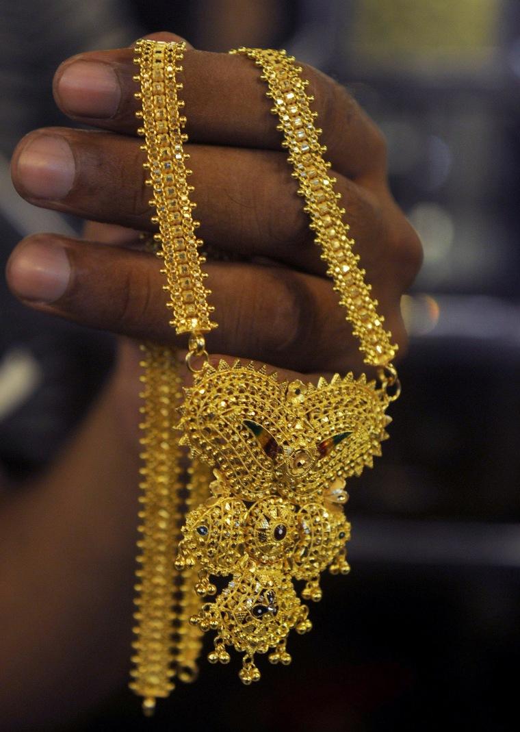 Image: INDIA-TRADE-GOLD-FILES