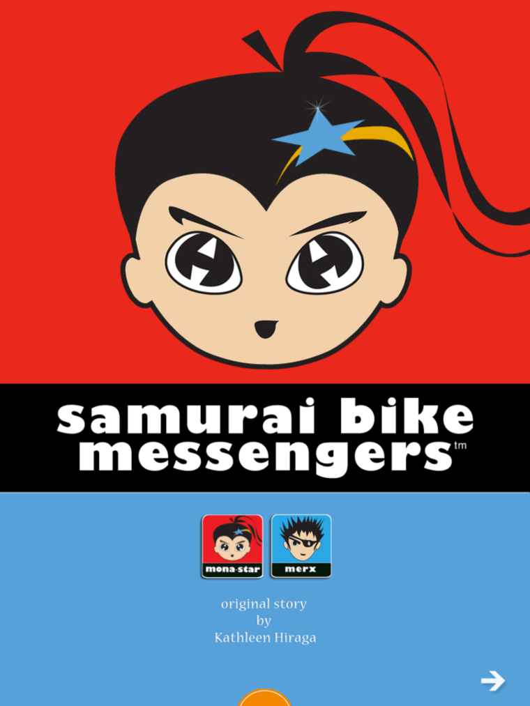 Samurai Bike Messengers recently released a 21-page interactive e-book for iPad, Android and Kindle, and a four song pop extended play (EP).