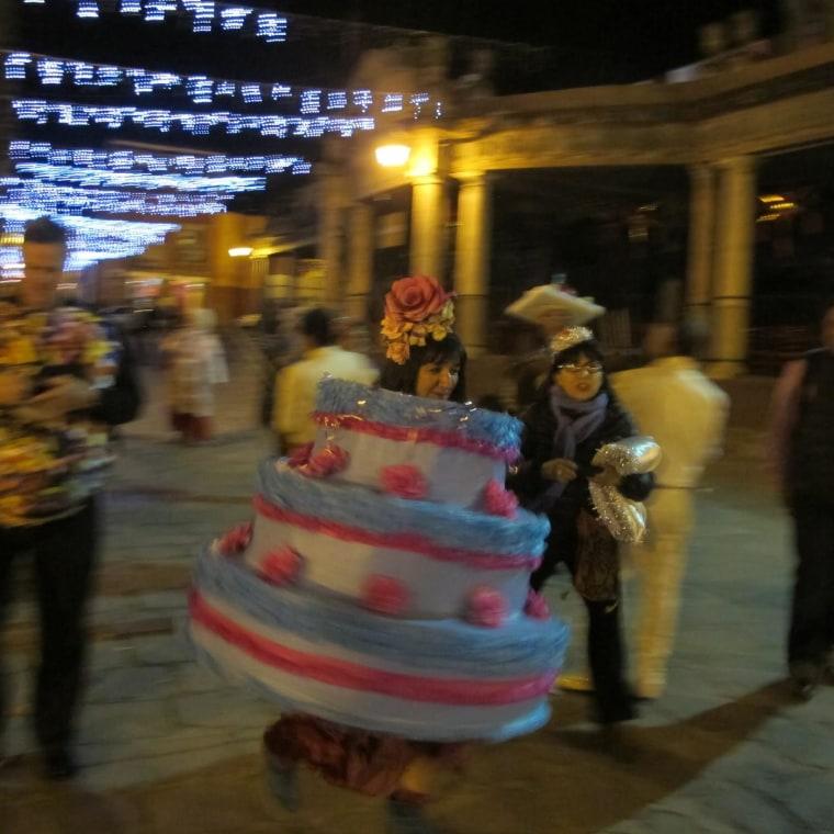 Sandra Cisneros celebrates her 60th birthday, in Mexico.