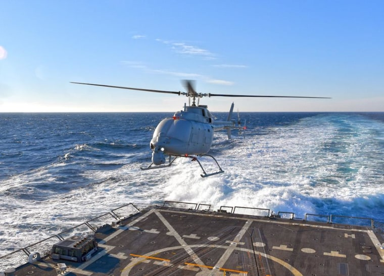 Image: Navy's MQ-8C helicopter drone