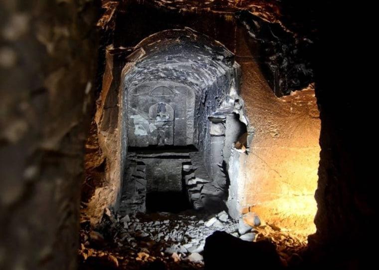 Image: Osiris tomb replica