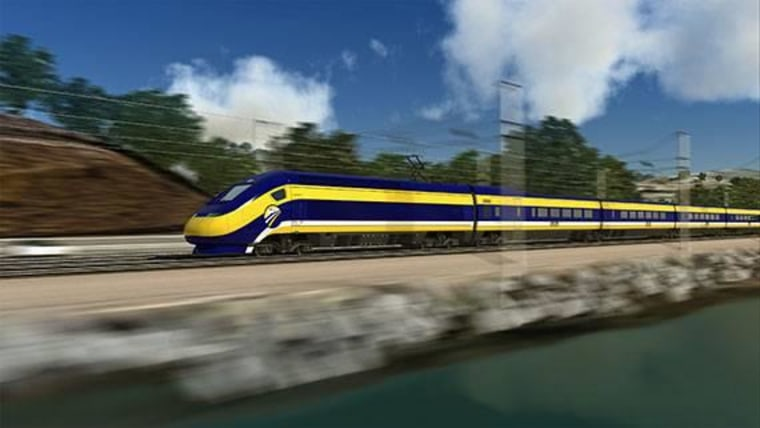 California to Break Ground on U.S.'s First 'Bullet Train'