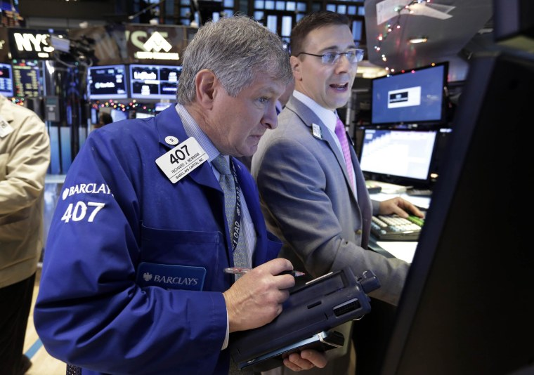 U.S. stocks fell sharply on Monday, with energy companies leading the losses.