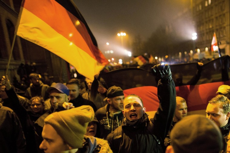 Image: Pegida Protesters March In Berlin