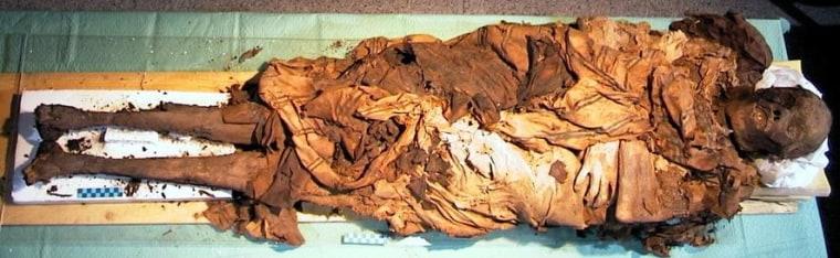 Image: Body of Cangrande della Scala of Verona
