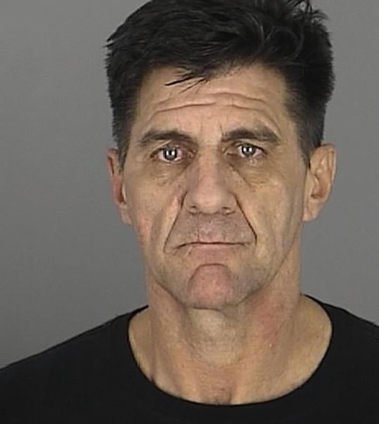 50-year-old John Balmer was arrested and charged with possession of meth at the Kmart in Hudson, Fla.