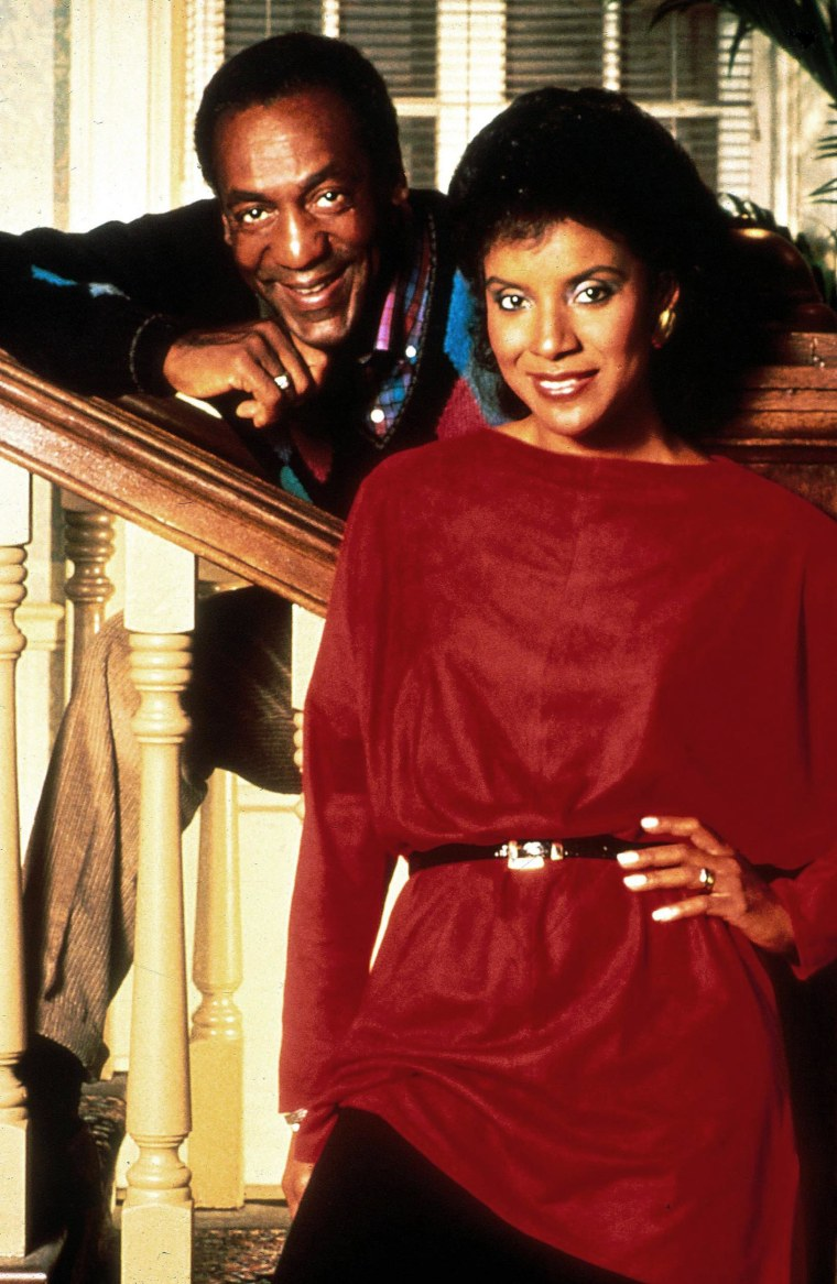 """Bill Cosby and Phylicia Rashad in a publicity photo for the ''The Bill Cosby Show"""""""
