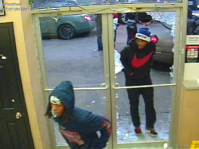 Recognize these people? In total, surveillance cameras caught 28 suspects burglarizing a Phillips 66 gas station near Dellwood on November 24, 2014. Anyone with information about the suspects should contact CrimeStoppers at 866-371-TIPS. All tips are anonymous.