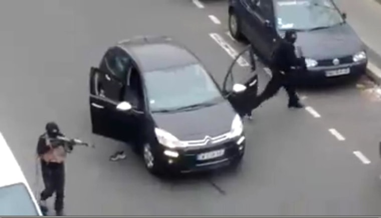 Image: Massacre At French Magazine Office - Paris