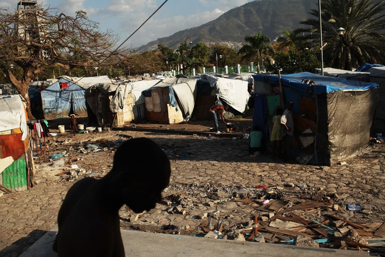 Image: Haiti Continues To Struggle Two Years After Devastating Earthquake