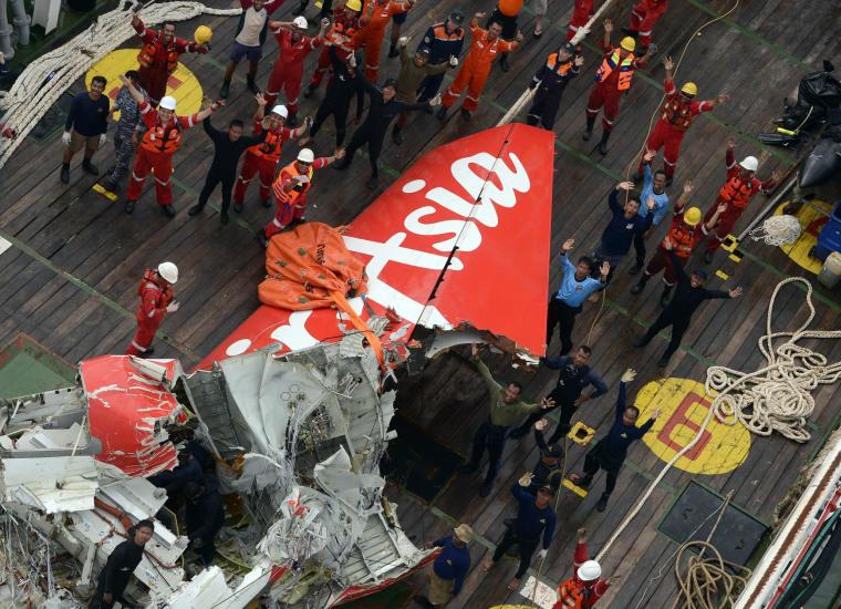 Image: AirAsia flight QZ8501
