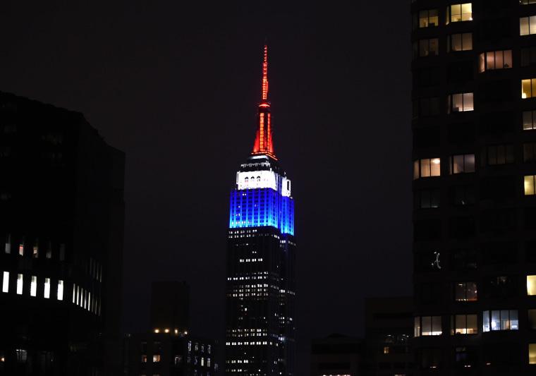 Empire State Building Frecn Flag