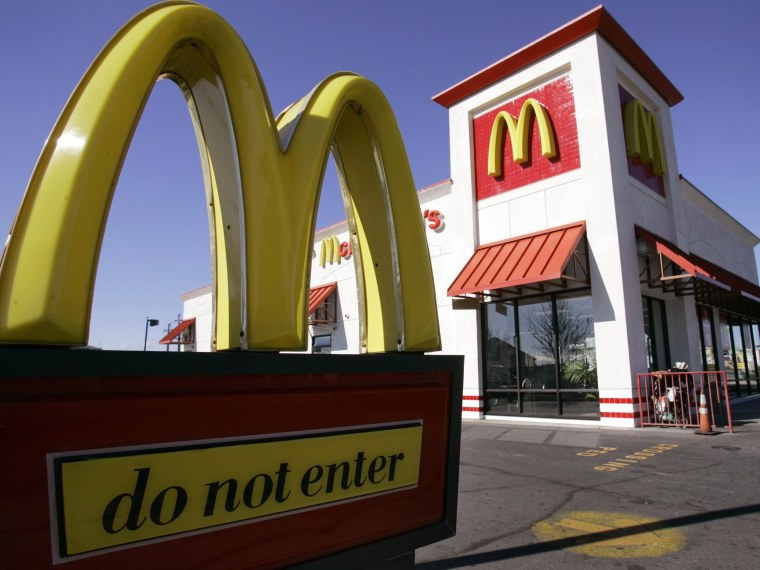 McDonald's sales are hurting because fewer customers are visiting the Gold Arches.