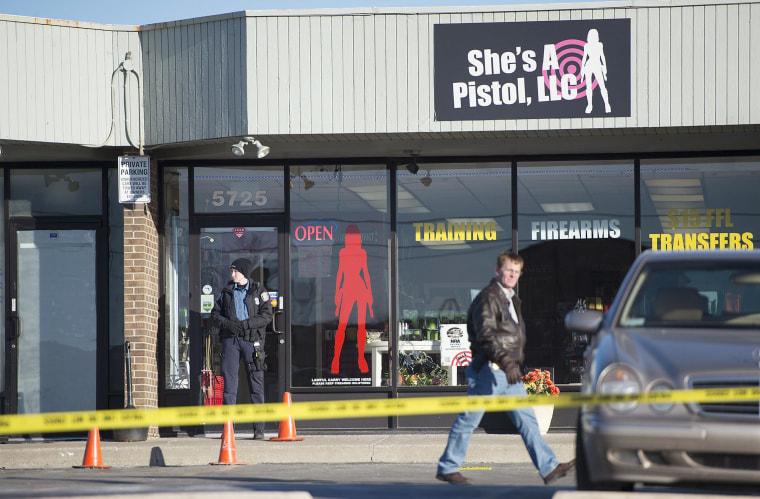 Image: She's a Pistol in Shawnee, Kansas