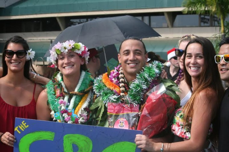 Native Hawaiian Graduates Wearing Nothing but Cultural