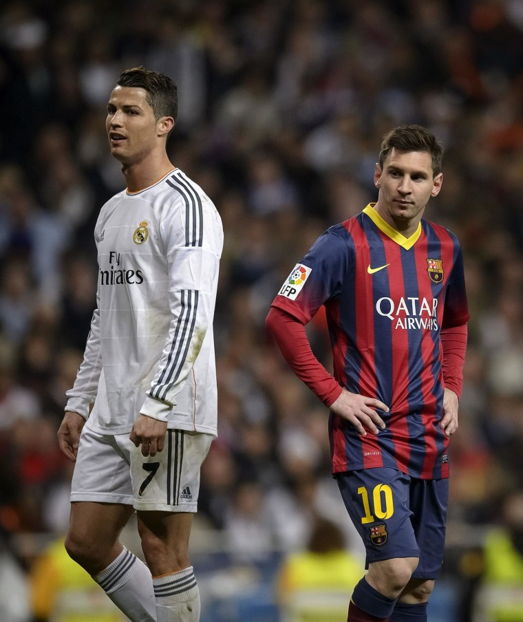 new products 8eee2 ed40a Ronaldo Beats Messi to Claim Third FIFA Ballon d'Or