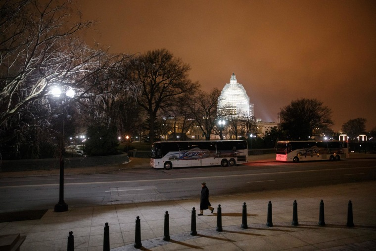 The U.S. Capitol in Washington is seen Wednesday evening, Jan. 14, 2015.
