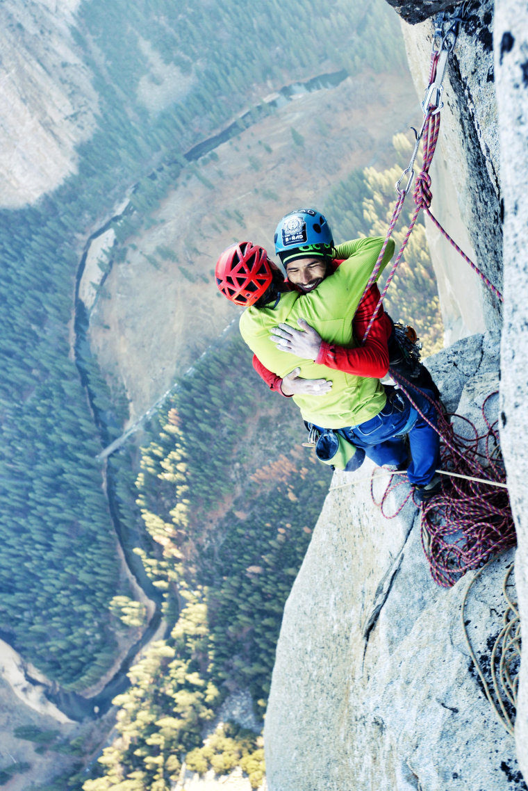Image: Tommy Caldwell and Kevin Jorgeson