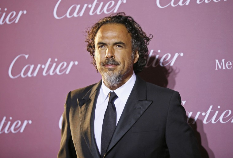 Image: File photo of director Alejandro Gonzalez Inarritu at the 26th Annual Palm Springs International Film Festival Awards Gala