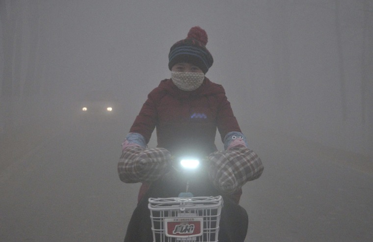 Air Pollution Killing 4,000 in China a Day, U.S. Study Finds