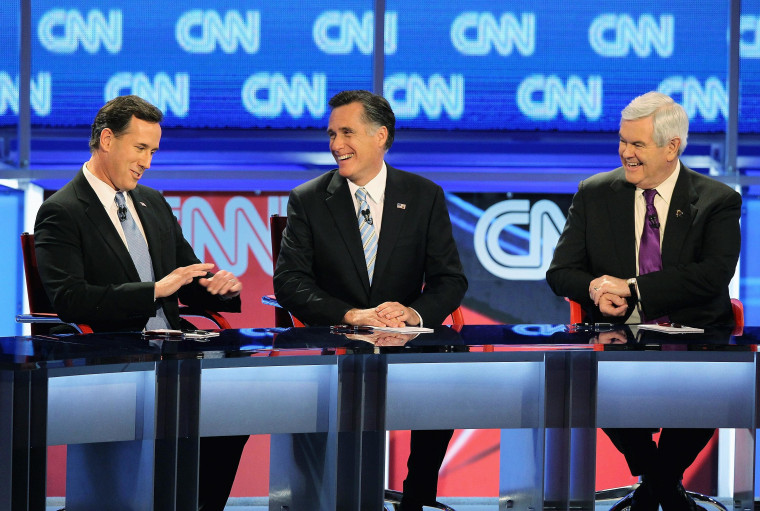 Image: CNN And Arizona GOP Host Presidential Debate