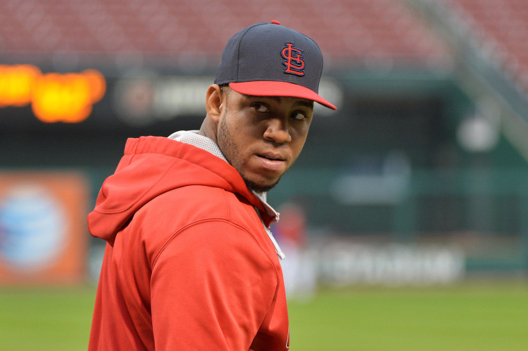 super popular 00f06 0739c Cardinals to Wear 'OT' Patch in Memory of Oscar Taveras: Report