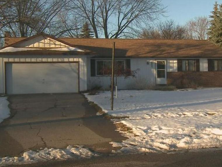 Home in Apple Valley, Minn., where three were found dead.