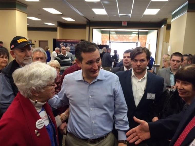 January 18, 2015: Sen. Ted Cruz, R-Texas, at the South Carolina Tea Party Convention