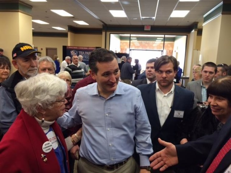 January 18, 2015: Sen. Ted Cruz, R-Texas, at the South Carolina Tea Party Convention