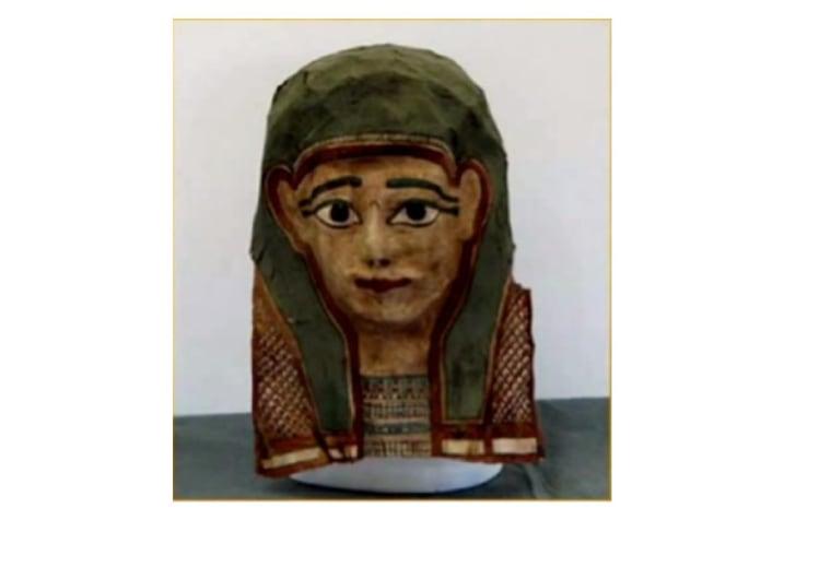 Image: Mummy mask